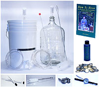 The 2 Stage Brewing Kit is our most popular package!
