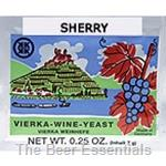German Yeast - Vierka Sherry