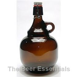 Growler with glass handle 2 liter