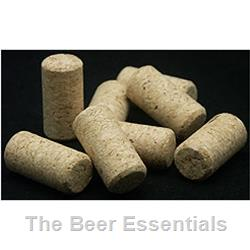 Cork Agglomerated #9 x 1.75 in 30 count