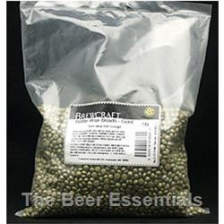 Bottle Wax Beads in black 1 lb.