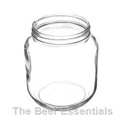 Jar 1/2 gallon wide mouth in a case of 6