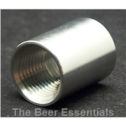 1/2 inch stainless coupler