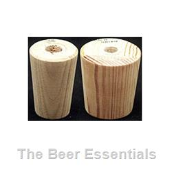 Wood barrel bungs for Hobby 2 Airlocks (1 7/16 x 2)