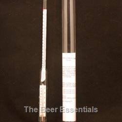 Hydrometer triple scale/thermometer