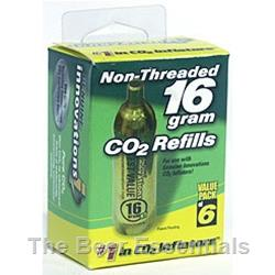 Co2 Refill Cartridge 8 grams, case of 10